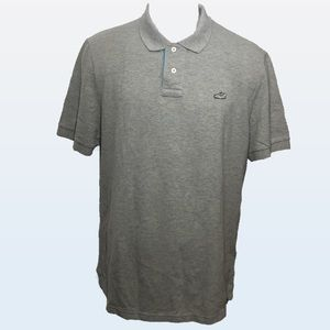 Men's - Nike Sneaker Patch Gray Polo Shirt